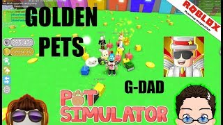 Roblox - Pet Simulator - To The Moon w/ G-Dad!!!!