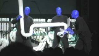 BLUE MAN GROUP - ドラムボーン:YouTube LIVE TOKYO feat.iQ