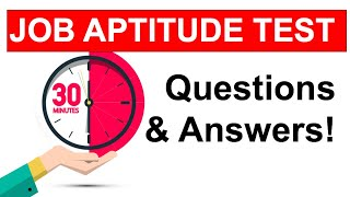 APTITUDE TEST Questions and ANSWERS! (How To Pass a JOB Aptitude Test in 2021!) screenshot 3