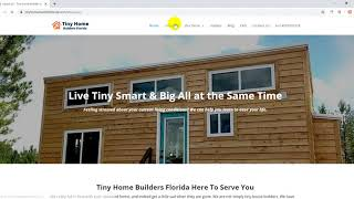 Tiny Home Builders Florida