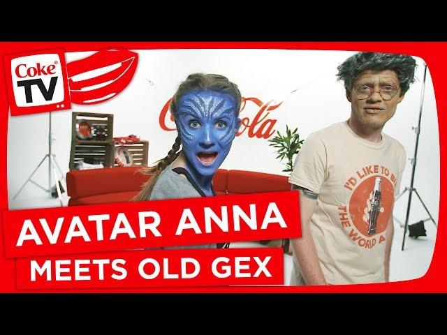CokeTV Danmark: Gamle Gex og Avatar Anna