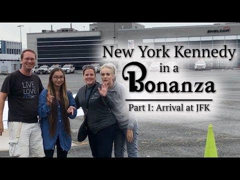 New York JFK in a Bonanza   Arrival
