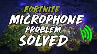 Fortnite Microphone Problem Solved | 100% Working