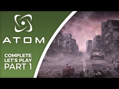 Let's Play A.T.O.M. RPG - Part 1 - A Russian love-letter to Fallout