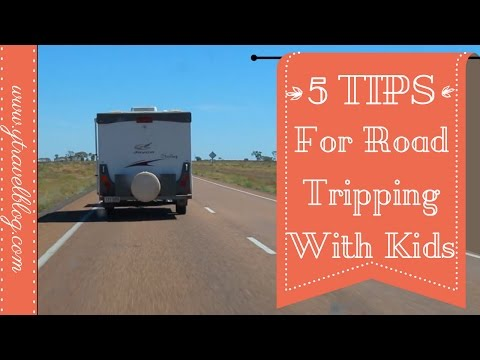 TOP 5 Tips For Road Tripping With Kids