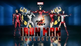 Hot Toys Iron Man Diecast Collection