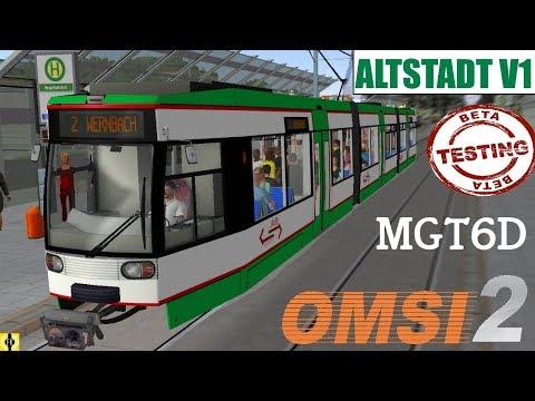 Repeat OMSI 2 [60 FPS] - Tram-Map ALTSTADT (WIP) Vorstellung