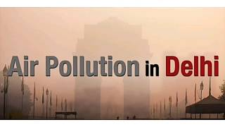 Deteriorating Air Quality In Delhi - air pollution