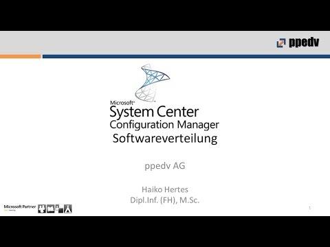 SCCM 1511 (2016): Erstellen und Verteilen von Anwendungen und Paketen - Deutsch / German