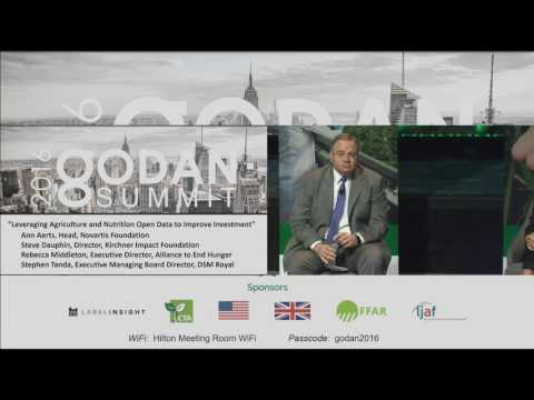 2016 GODAN Summit Panel - Leveraging Agriculture and Nutrition Open Data to Improve Investment