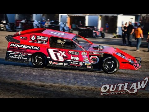 Millennial Farmer The Dirt Track Modified Racer in Action