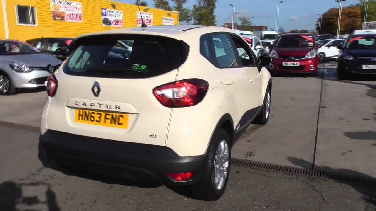 renault captur 1 5 dci 90 expression energy 5dr u38487 youtube. Black Bedroom Furniture Sets. Home Design Ideas