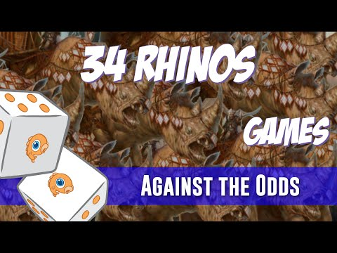 Against the Odds: 34 Rhinos Games