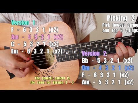 """""""Wrecking Ball"""" - Miley Cyrus EASY Guitar Tutorial/Chords (No Capo!) & GIVEAWAY! [CLOSED]"""