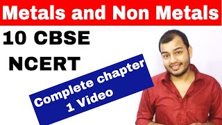 METALS and NON METALS 10 CBSE CHEMISTRY CHAPTER 3 ||Compilation Of All of My Videos || CBSE Class 10