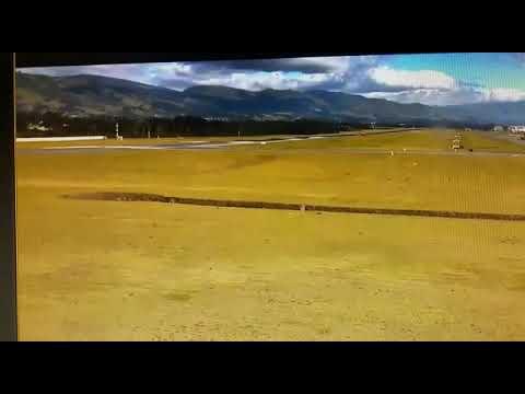 Iberia A340 hard landing in Quito