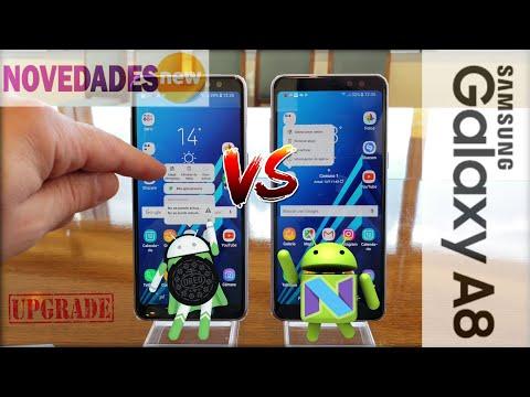 Todas las Novedades de Android 8 Oreo para el Samsung Galaxy A8 2018