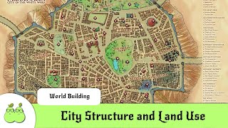 World Building For Dummies 3: City Structure and Land Use