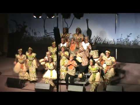 Watoto Children's Choir from Uganda in Terrace, BC -MAR 2010
