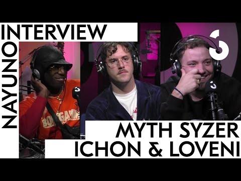 Youtube: Interview de Myth Syzer, Ichon, & Loveni (Bisous Mortels, Bon Gamin, l'Autotune, les collabs US)