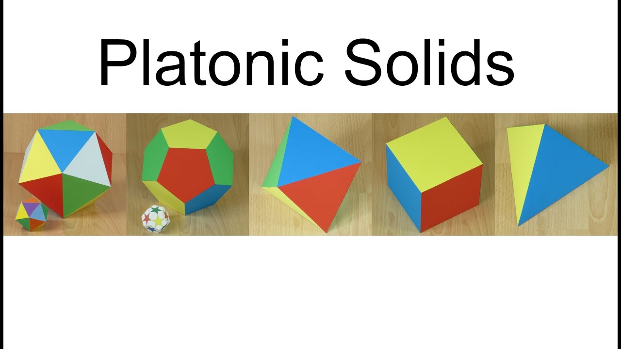 Paper Platonic Solids Youtube