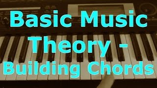 Music Theory for Beginners - C Major Scale, Building Chords from a Scale