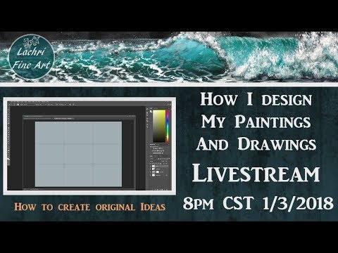 How to design a Painting & Art Q&A w/ Lachri