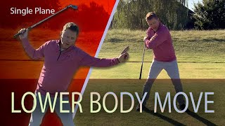 Golf Swing Transition From The Top