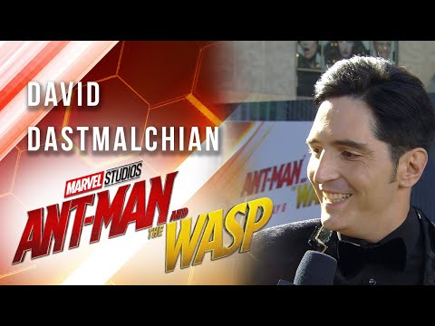 David Dastmalchian at Marvel Studios' AntMan and The Wasp Premiere