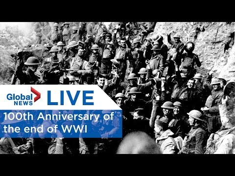 LIVE: 100th anniversary of the end of the First World War
