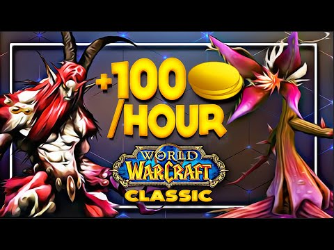 Classic WoW - 100 Gold/h, DM East - 1h With Frostadamus