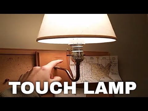 Attractive How To Turn Your Light Into A Touch Lamp INSTANTLY!   YouTube