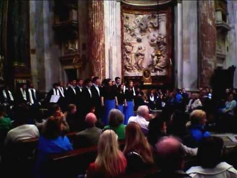 SME Chamber Choir - Rome, Italy - Giovanni Gabrieli - O Domine Jesu Christe