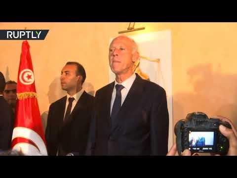 كلمة قيس سعيد بعد الإعلان عن فوزه  في الانتخابات الرئاسية التونسية  - نشر قبل 4 ساعة
