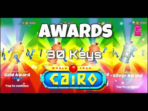 Cairo - Awards - World Tour - 30 Keys - Games In