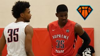 DeAndre Ayton vs Marvin Bagley At Peach Jam 2016!! | No. 1 Players in 2017 & 2018 Square Off