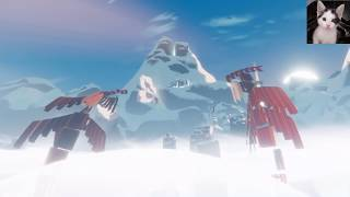 Journey on PS4 - White Robe multiplayer and memorable moments with full theme song