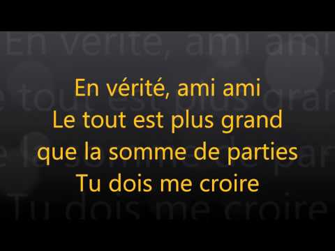 Ariane moffatt - Miami (paroles - lyrics)