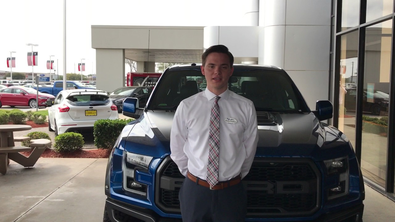 Hunter Goodson at Mac Haik Ford Pasadena - YouTube