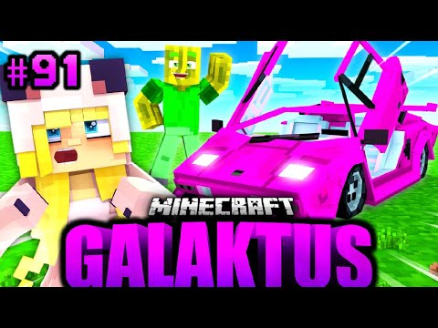ICH SCHENKE ISY einen 8.750.000€ LAMBORGHINI?! - Minecraft GALAKTUS #91 [Deutsch/HD]