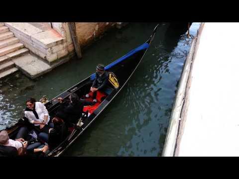 Venice Italy Gondola with ¡LiVe! Music 2014