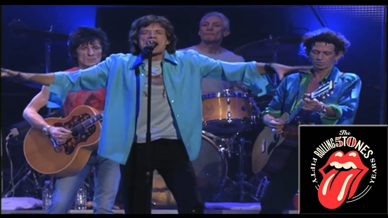 The Rolling Stones - Angie - Live at MSG - YouTube