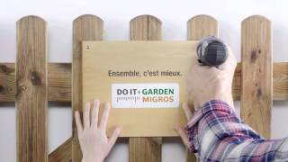 Do it + Garden Migros: ensemble, c'est mieux.
