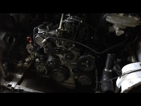 Как раздувает радиатор Mercedes Sprinter!
