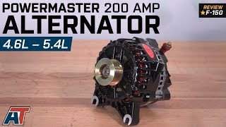 2004-2010 F150 Powermaster Alternator - 200 Amp Black 4.6L, 5.4L Review