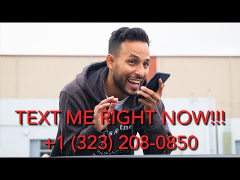 TEXT ME ON MY NEW NUMBER! +1 (323) 208 - 0850 | Anwar Jibawi