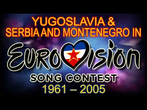 Yugoslavia & Serbia and Montenegro in Eurovision Song Contest (1961-2005)