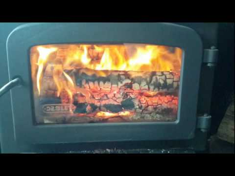 Super Easy Wood Stove Glass Cleaning !! - Super Easy Wood Stove Glass Cleaning !! - YouTube
