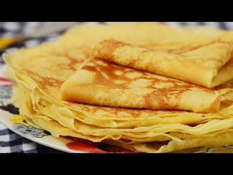 Crêpes Recipe Demonstration - Joyofbaking.com