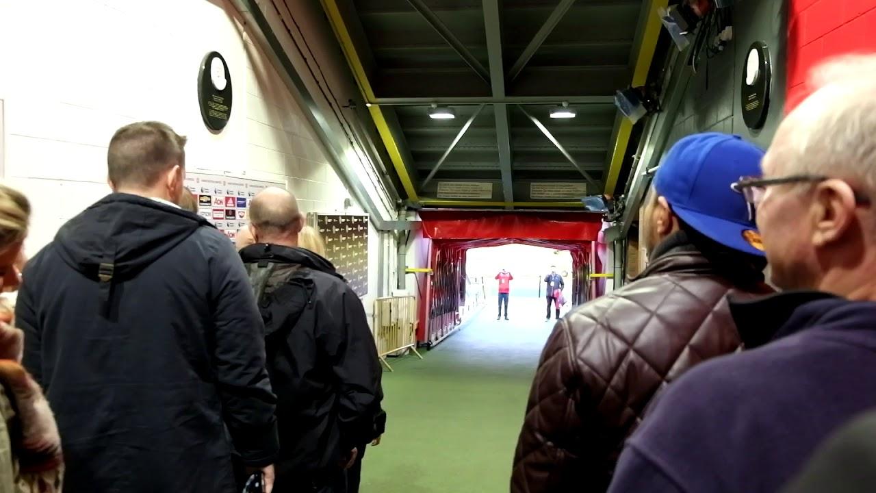 ggmu stadium tour free tour manchester united youtube